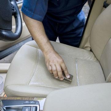 Rénovation du cuir d'une voiture