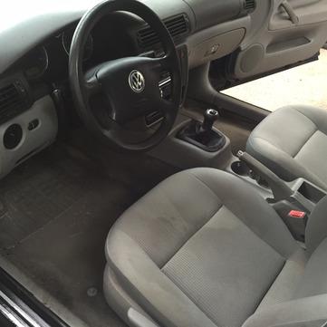 Nettoyage intérieur de voiture